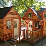 Love this idea. You could use the separate building for an office/guest room.
