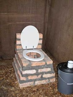 Farm toilet | ... toilet is that it works almost like a normal toilet and flushes