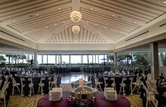 Wedding Set Up At The Naples Beach Hotel Golf Club