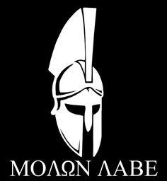 Molon Labe. #molon #labe