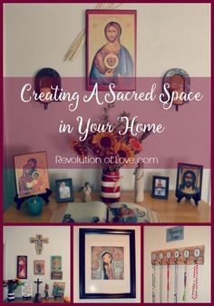 RevolutionofLove.com - Creating A Sacred Space in Your Home @bobbi_rol