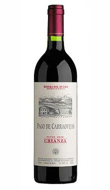 VINO TINTO PAGO CARRAOVEJAS CRIANZA 2009  Vinos Tintos - D.O. Ribera del Duero   21.99€    Precio con I.V.A. Incluido