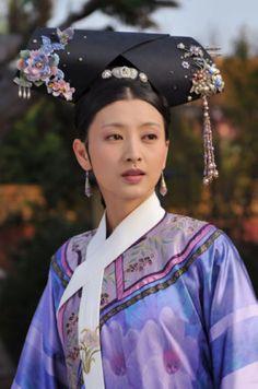 Hui Ping from Zhen Huan Zhuan, Qing dynasty costume drama.
