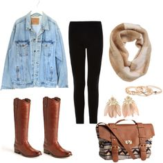 """Cute Fall Outfit!"" by ehemann-osu on Polyvore"