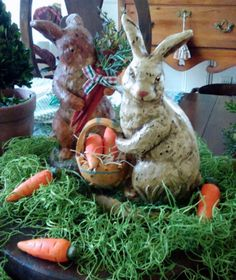 HYACINTHS FOR THE SOUL: A Trio of Bunnies ~ Easter @ My Friend Susan's