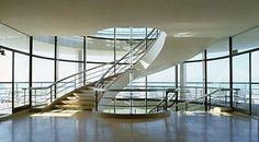 Bexhill Pavilion or De La Wharr Pavilion, UK, by Erich Mendelsohn and Serge Chermayeff, built in 1935.