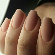Neutral matte nails of a very natural shade will look as if . wedding nails Neutral Matte Nails Of A Very Natural Shade Neutral Nails, Nude Nails, Matte Nails, Matte Pink, Coffin Nails, Oval Nails, Shellac Nails, Oval Shaped Nails, Matte Nail Colors