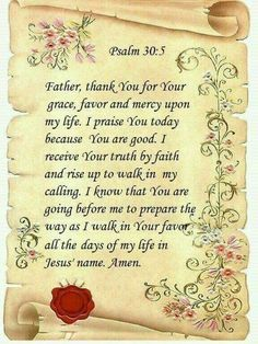 love u wid Psalm 30, Mom Prayers, Prayer For Today, Prayer Quotes, Today's Prayer, Prayer Board, Bible Quotes, Photo Heart, Favorite Bible Verses