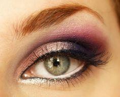 Makeup idea for hazel eyes