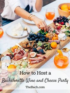 How to Host a Bachelorette Wine and Cheese Party