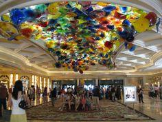 Dale Chihuly Glass, Reception, Bellagio Hotel & Casino, 3600 South Las Vegas Boulevard, Las Vegas, Nevada