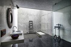 bathroom. Литой дом в Индии от SPASM Design Architects