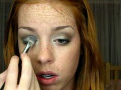 Amazing Tutorial for Kim K makeup for redheads:)