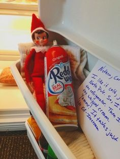 elf on the shelf ideas by AnnaBanannna