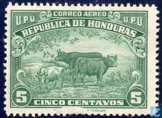 1945 Honduras - Animals