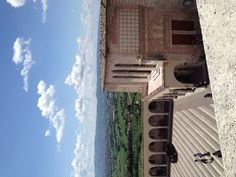 Landscape from St.Francisc, Assisi, Umbria