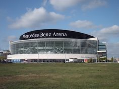 Mercedes-Benz Arena ~ Multi-use indoor arena in Berlin, Germany. Flashback to watching a hockey game here, the atmosphere was incredible.