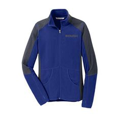 Roush Automotive Collection Store - Roush Ladies Blue Colorblock Microfleece (3325), $49.95 (http://store.roushcollection.com/new-in-2016/roush-ladies-blue-colorblock-microfleece-3325/)