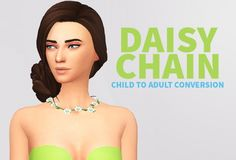 Daisy chain at Lucas Sims via Sims 4 Updates