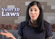 Sarah Silverman takes on voter ID laws. Voter Id, Working Class, Our World, My People, More Fun, Thinking Of You, Believe, Politics, Good Things