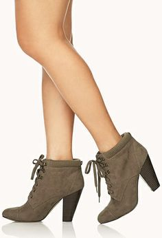 Must-Have Combat Booties | FOREVER 21 - 2000108144