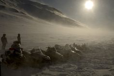 Arctic Adventures offers snowmobile day tours on all the major glaciers in Iceland. #arcticadventures #iceland