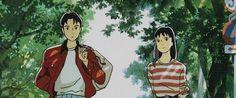 Canne's Top 10 Studio Ghibli Works (part Studio Ghibli, Ocean Waves, Totoro, Drawing Reference, Painting & Drawing, Kiss, Cartoon, Drawings, Anime