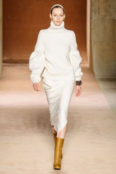 Victoria Beckham Fall 2015. See all the best runways looks from NYFW here.