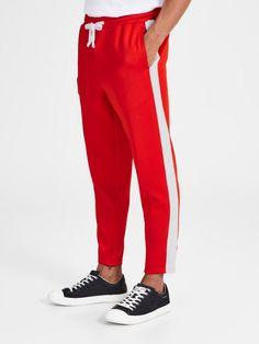 Jack & Jones VEGA RETRO WW FIERY RED Sweathose für 39,99€. Anti-Fit-Jogger, Bewegungsfreiheit und Komfort dank Stretchzugabe, Elastischer Bund bei OTTO
