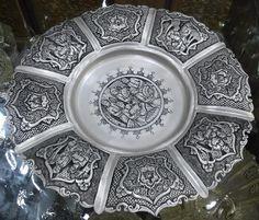 Decorative Persian Silver Plate