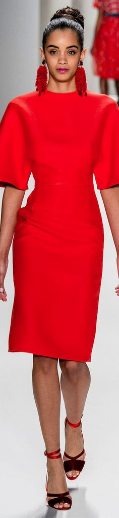 LOOKandLOVEwithLOLO: NYFW FALL 2014 Ready-To-Wear Featuring Carolina Herrera and Tommy Hilfiger