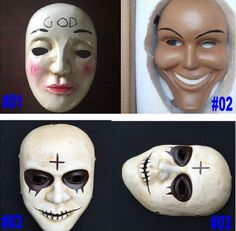 Adult  Mask THE PURGE MOVIE ANARCHY 2 HORROR Mask
