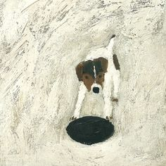 Greeting card reproduced from an original painting by Gary Bunt.