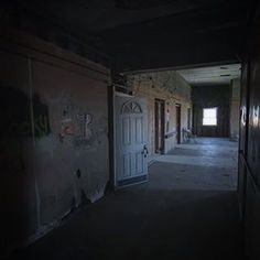 The halls of Illinois haunted Ashmore Estates look empty but looks are often deceivingtravel roadtrip haunted paranormal occult supernatural illinois IL explore discover adventure roadtrippin ghost ghosthunting spirit