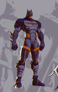 Batman Vs Superman, Batman Armor, Batman Suit, Superhero Characters, Dc Comics Characters, Comic Books Art, Comic Art, Comic Character, Character Design