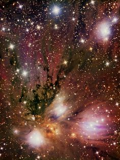 NGC 2170 is a reflection nebula in the constellation Monoceros.