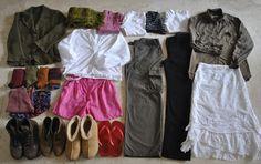 Handmade by Carolyn: a travel wardrobe...