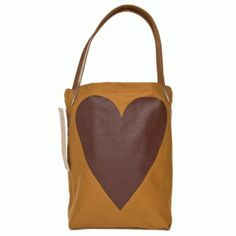 love this organic-tote bag that is made of cotton and leather <3