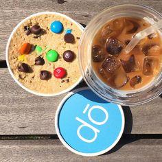 The cure. #coffee #cookiedough #cookiedonyc #nyc #doonthego #doforbreakfast