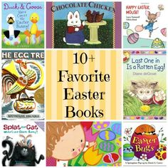 10 favorite and best easter picture books for children