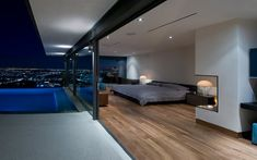 Hopen Place | Whipple Russell Architects....This is probably one of the most amazing bedrooms I have ever seen.