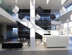 Akustikwürfel_ 3D-Absorber - Schalldämmung im Deckenbereich
