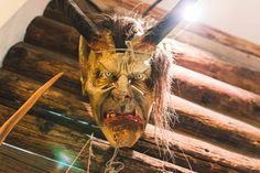 #Krampus Maske in #Hüttschlag