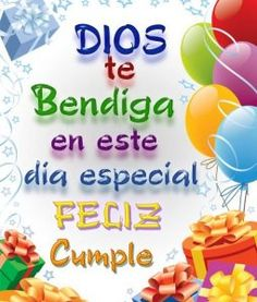 tarjetas de cumpleaños Spanish Birthday Cards, Happy Birthday In Spanish, Happy Birthday Posters, Happy Birthday Messages, Happy Birthday Quotes, Prayer For Husband, Sister Poems, Happy Brithday, Good Morning Love