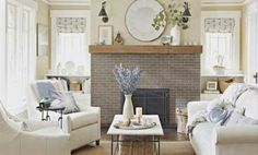 See how a few simple but important changes completely transformed a dull and dated fireplace.