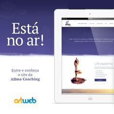 Está no ar mais um belíssimo projeto, acesse e confira: www.allmacoaching.com.br #coaching #coach #coachingdevida #lifecoaching #lifecoach