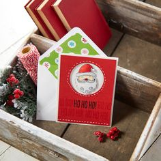 Time to create your holiday cards! Friends and family are sure to treasure handmade Christmas cards with Paper-Lined Envelopes
