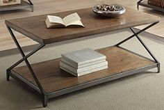 ACME Furniture 80445 Fabio Coffee Table, Oak