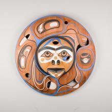 Moon Panel by Kwakwaka'wakw artist Rande Cook