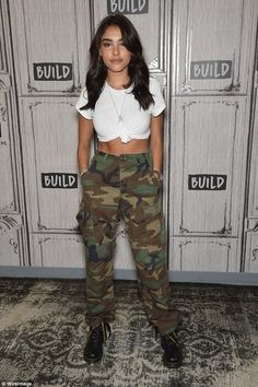 Authentic Vintage Unisex Military High Waisted Cargo Camo Pants Authentic Vintage Unisex Military High Waisted Cargo Camo Pants,fashion federxca jacket outfit ideas with camo pants fashion outfits outfits Teenage Outfits, Teen Fashion Outfits, Trendy Outfits, Summer Outfits, Girl Outfits, Army Outfits, Classy Outfits, Chic Outfits, Night Club Outfits